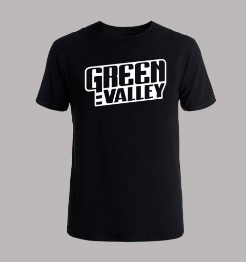 Camiseta negra logo GV